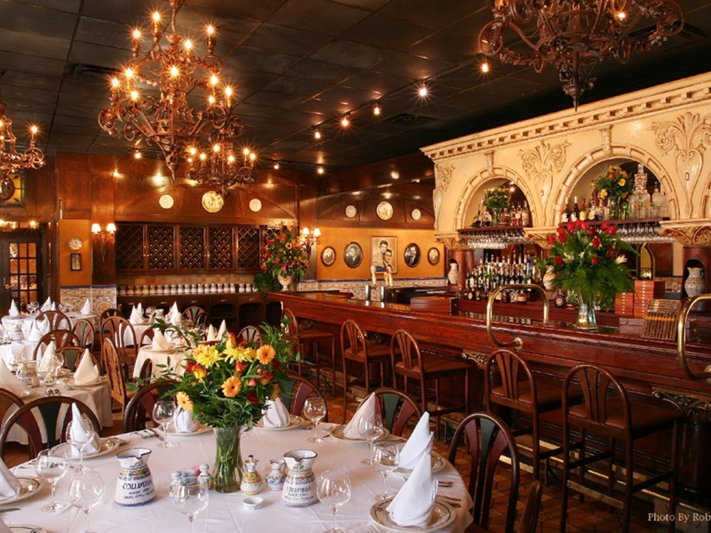 Interior of Columbia Restaurant