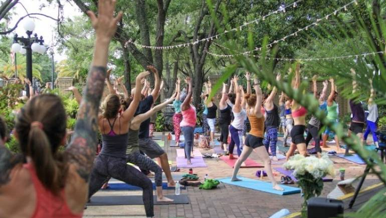 Community Yoga Class in Ybor