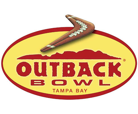 Logo for Outback Bowl Tampa Bay