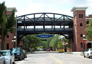 The Fernando Noriega Jr. garage (or Palm Avenue garage) is a 1,240 space parking structure that services the Hillsborough Community College, Ybor City and other surrounding businesses