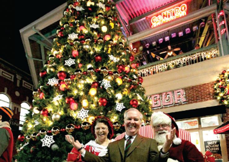 Ybor City Holiday Tree Lighting