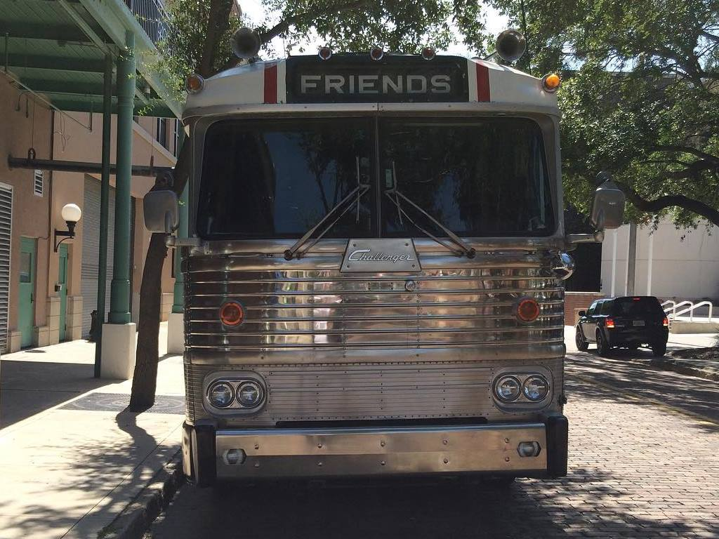 Tour Bus Parking in Ybor City on 9th ave and 16th street
