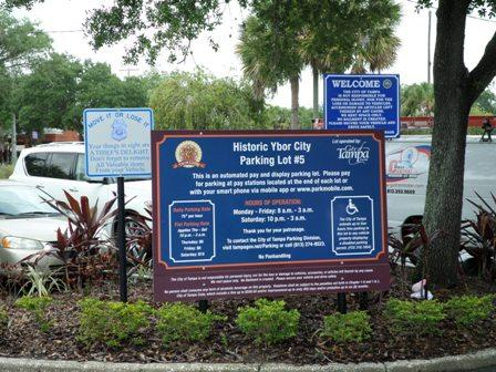 This 73 metered space parking lot serves the Centro Ybor area on 1812 N 19th Street