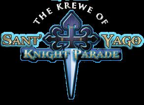 The Krewe of Sant' Yago Gasparilla Knight Parade Logo