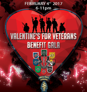 Valentines for Veterans Benefit Gala logo