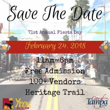 Ybor City Prepares for 71st Annual Fiesta Day