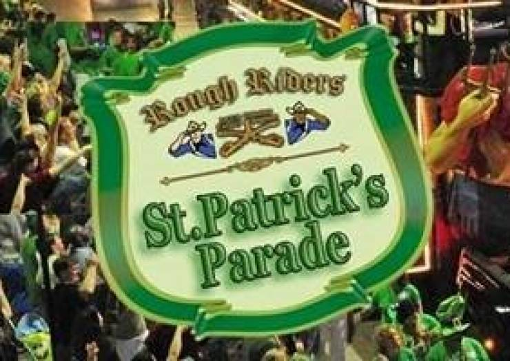 Rough Rider's St. Patrick's Day Parade