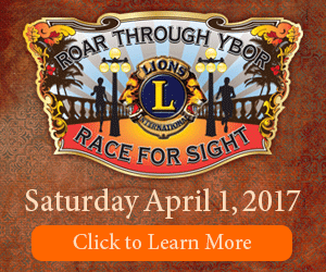 Race For Sight Flyer in Ybor City April 1st, 2017