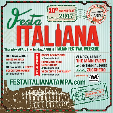 Festa Italiana 2017 Ybor City Events