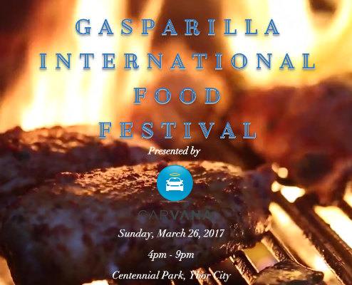 Gasparilla International Food Festival logo