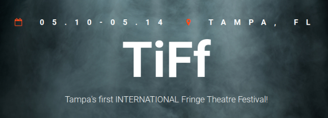 Tampa international fringe festival logo