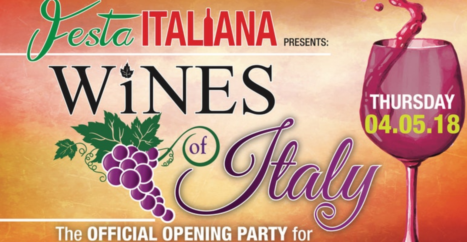 Wines of Italiy Wine Tasting Event for Festa Italiana
