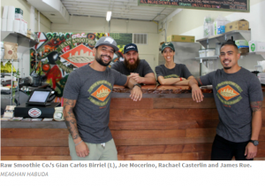 Ybor Market Vendors, Raw Smoothie at their new South Tampa Location