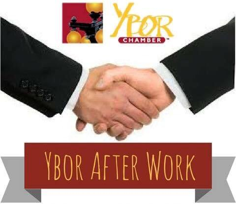 Ybor Chamber presents Ybor After Work, Business people shaking hands