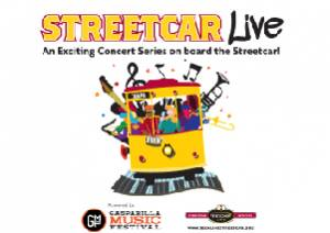 Streetcar Live series sponsored by Gasparilla Music Festival and the TECO Line Streetcar