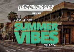 Summer Vibes 17 on 7th Avenue in Ybor City Sunday July 9th