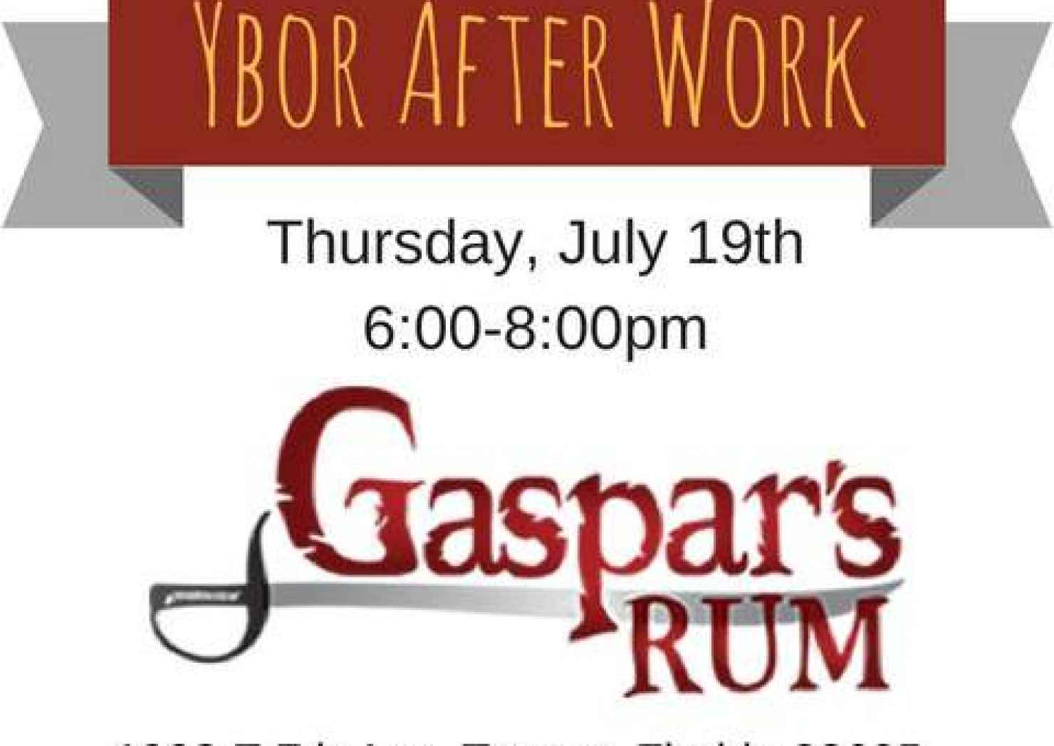 Ybor After Work at Tampa Bay Rum Company