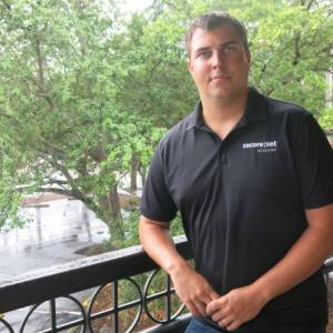 SecureSet Academy founder Adam Sheffield