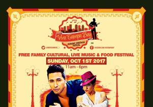 ViVa Tampa Festival October 1st, Free Family Cultural, Live Music and Food Festival