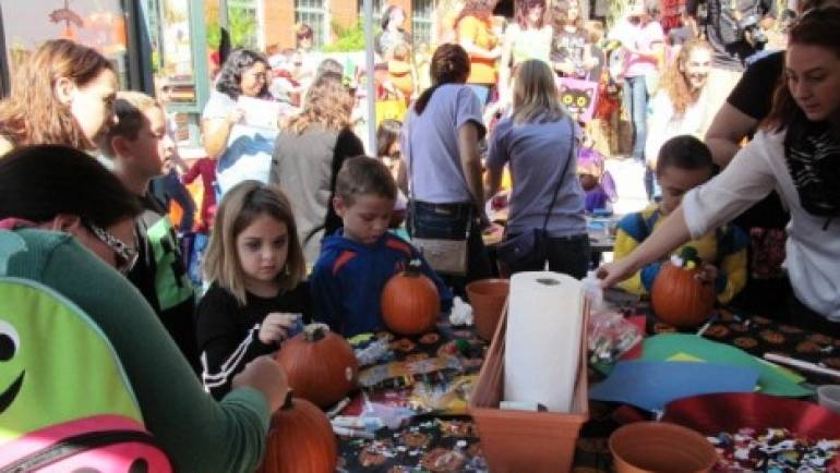 YMA's Little Monster's Pumpkin Patch & Promenade