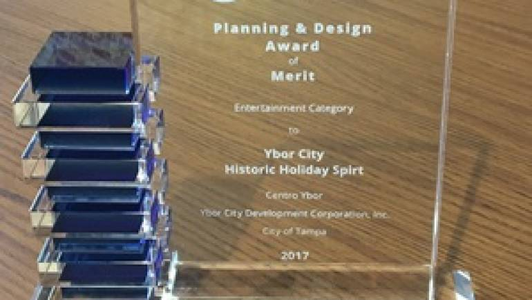 The Historic Holiday Spirit Program Selected for 35th Annual Planning and Design Awards