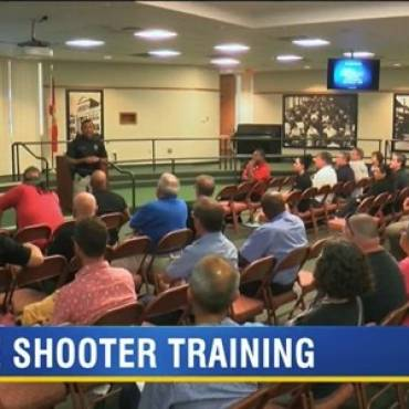 Tampa Police Department Teach Ybor City Business Owners and Employees how to 'Run, Hide, Fight'