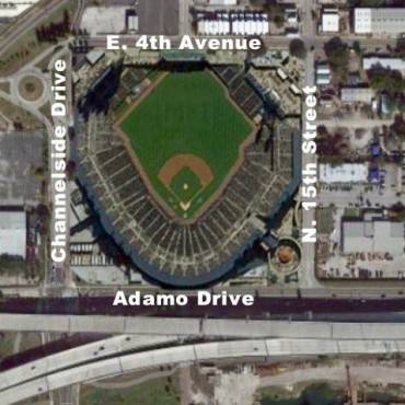 Study Shows Proposed Rays Ballpark in Ybor Accessible by Majority of Population in Region