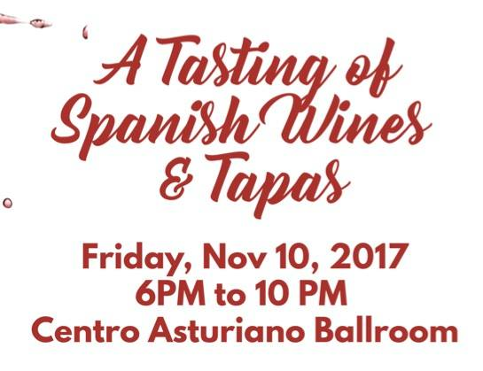 A Tasting of Spanish Wines & Tapas