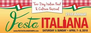 21st Annual Festa Italiana April 7-8 2018 in Ybor City