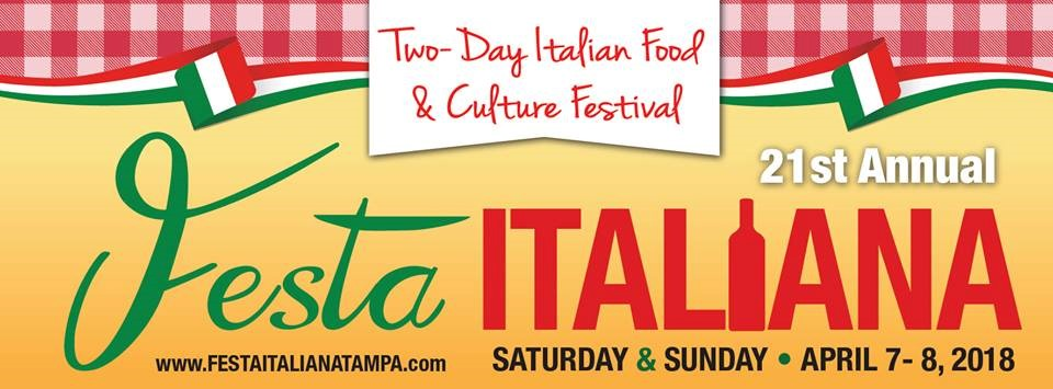 21st Annual Festa Italiana April 7-8 2018 in Ybor City