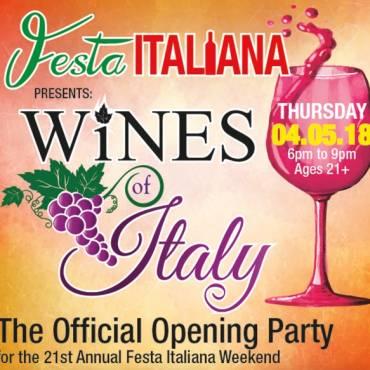 Italian Club Prepares for 21st Annual Festa Italiana