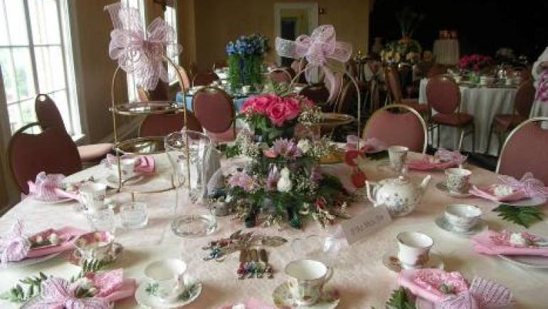 Mother's Day Themes N' Tea
