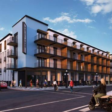 Four-Story Boutique Hotel Set to Begin Construction on East Seventh Avenue