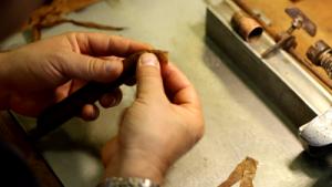 premium cigar roller in Ybor City Cigar Factory
