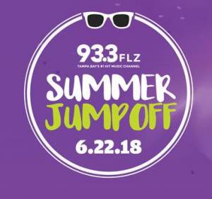 93.3 FLZ Summer Jump Off in Ybor City