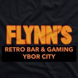 Flynn's Retro Bar & Gaming in Ybor City Logo
