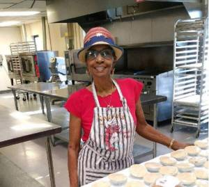 Vivian Clark, proprietor of Vivian's Cajun Crawfish Pies, LLC - Now available at over 10 specialty food markets across Tampa Bay