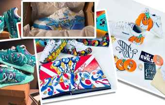 Burn Rubber Showcases New York City Graffiti Culture on Reebok Classic Sneakers Art Show