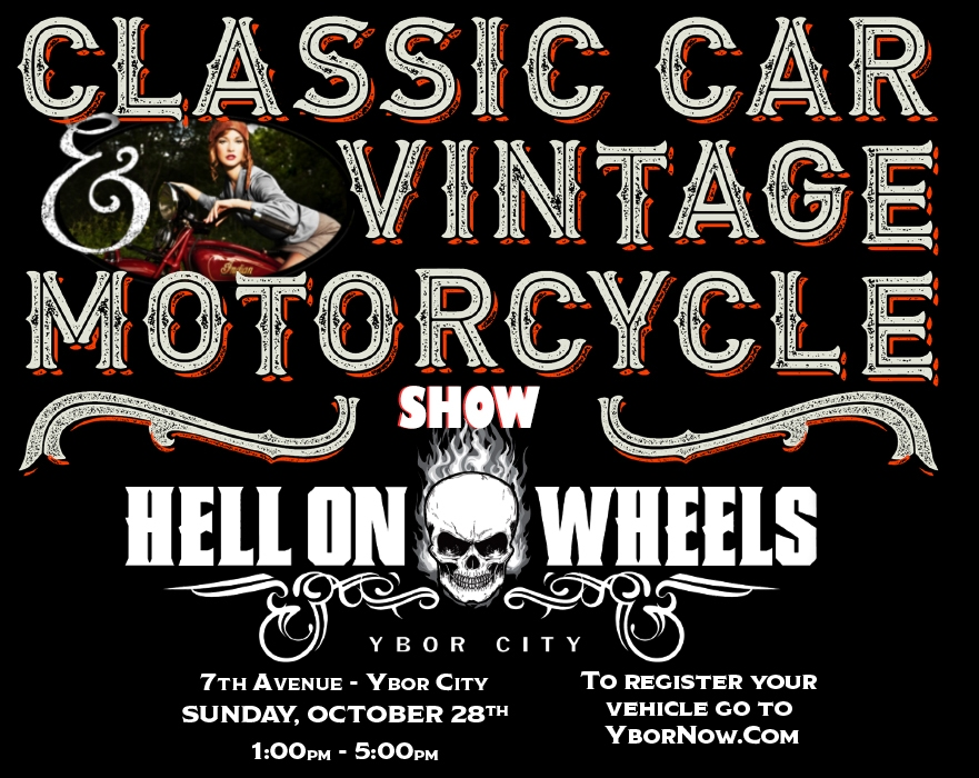 Hell on Wheels Vintage Car Show in Ybor City