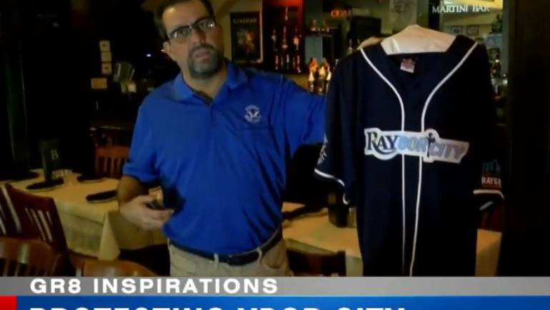 Ybor City's Jason Fernandez Featured on WFLA GR8 Inspirations
