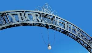 Ybor City Archway Gate
