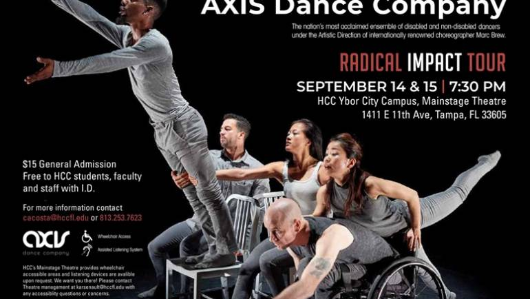 AXIS Dance Company brings Radical Impact to Tampa