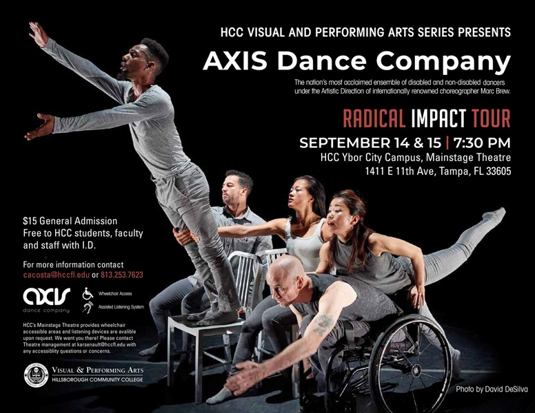 AXIS Dance Company Show Flyer
