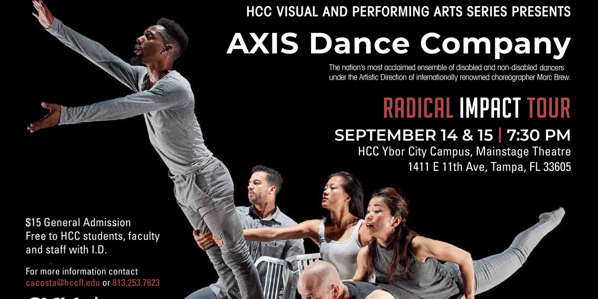 AXIS Dance Company brings Radical Impact to Tampa | Ybor City on eckerd college campus map, hillsborough community college campus map, miami campus map, university of tampa campus map, dale mabry campus map,
