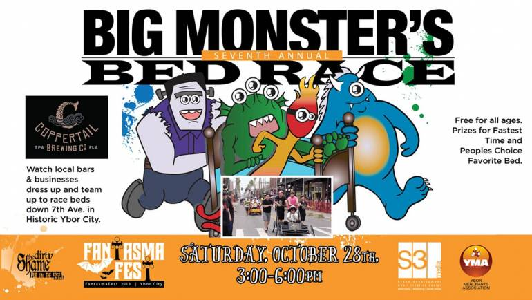 Seventh Annual Big Monsters Bed Race