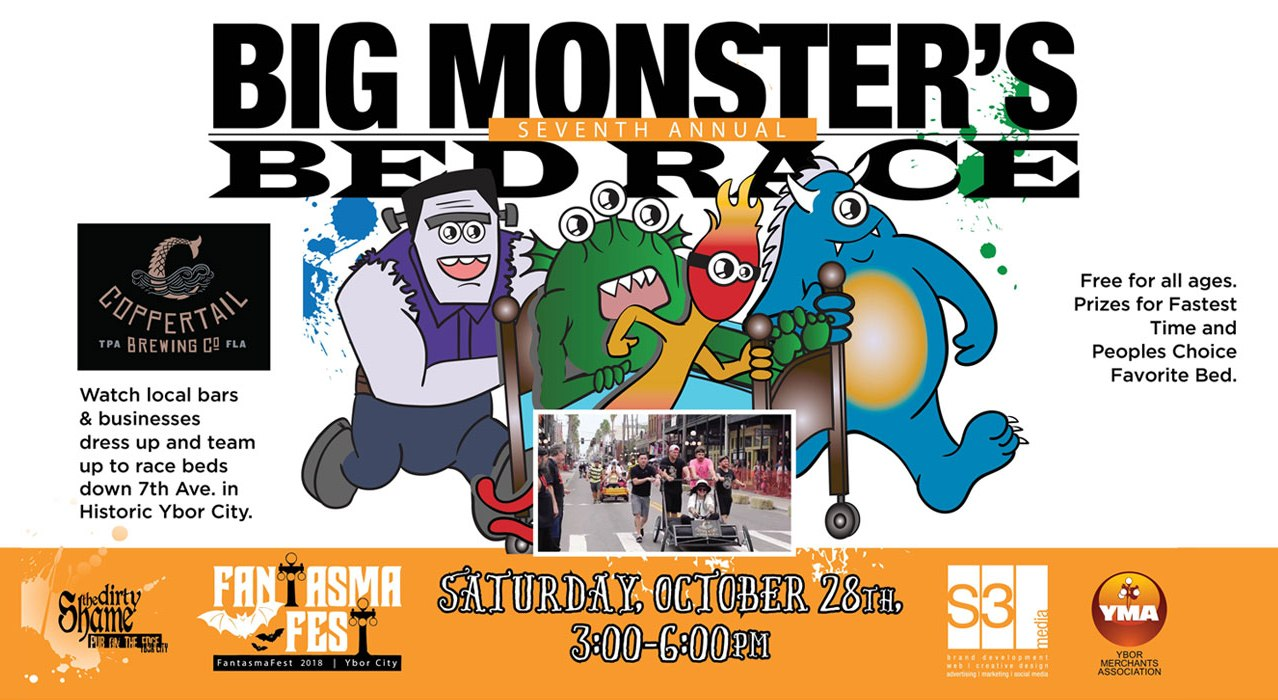Seventh Annual Big Monster's Bed Race
