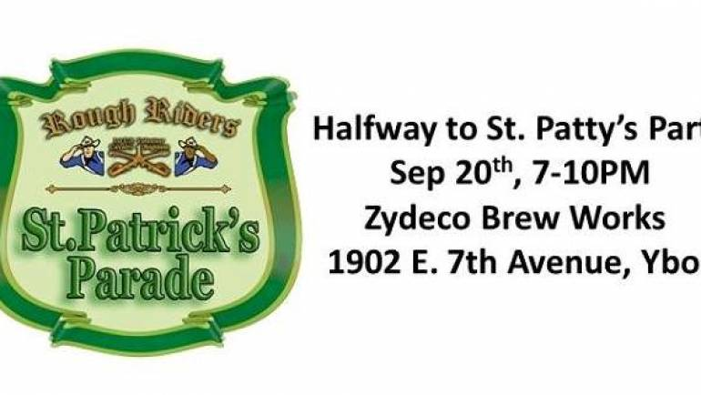 Rough Riders – Halfway to St. Patty's Day Party