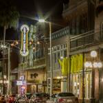 ybor street at night