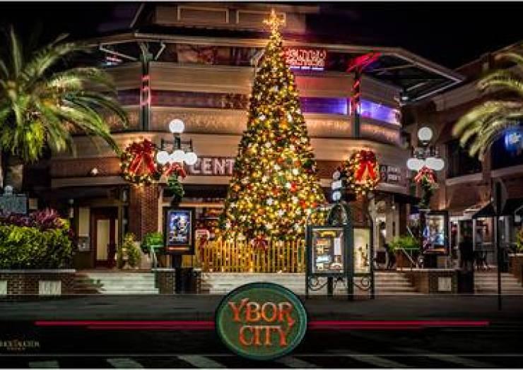 Ybor City Tree Lighting & Holiday Market at Centro Ybor