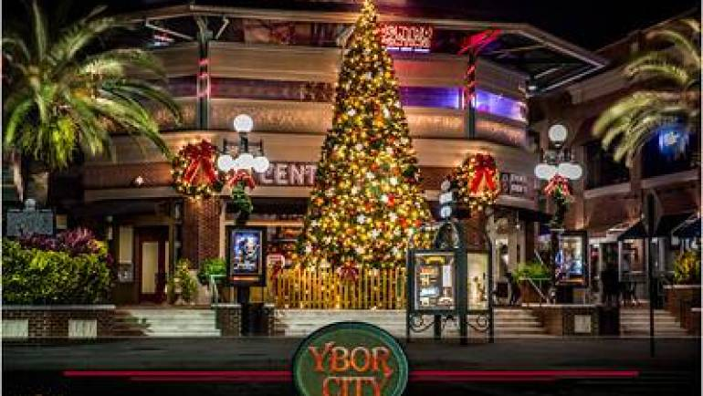 Ybor City Tree Lighting & Holiday Market at Centro Ybor